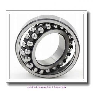 25 mm x 62 mm x 24 mm  FAG 2305-TVH  Self Aligning Ball Bearings
