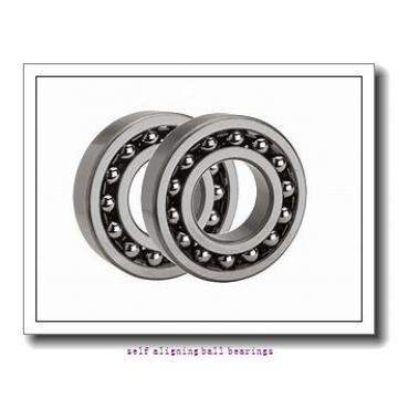 55 mm x 100 mm x 21 mm  FAG 1211-TVH  Self Aligning Ball Bearings